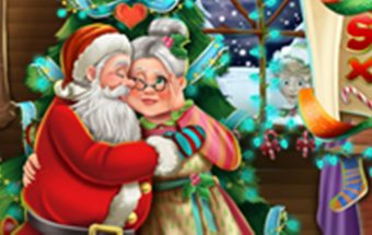Išdykęs Šventų Kalėdų senelis - linksmas nuotykių žaidimas.