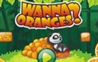 Lavinantis ir loginis žaidimas apie pandą ir apelsinus