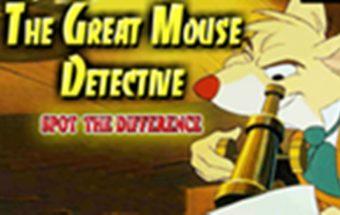 Peliukas detektyvas ir jo žaidimai vaikams.