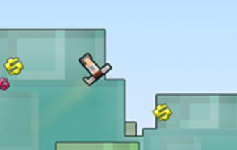 """Ponas """"Lee"""" - linksmas ir pilnas nuotykių skraidymo žaidimas."""