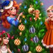Kalėdinė eglutė - Princesės.