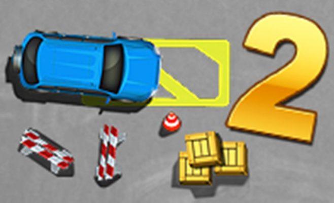 Mašinų vairavimas žaidime Priparkuokite mano mašiną. Vairuokite automobilį savo telefone. Nemokamas žaidimas vaikams.