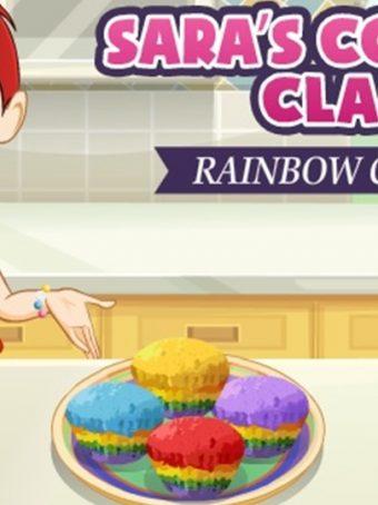 Pyrago gaminimas ir kepimas - žaidime Pyragėliai