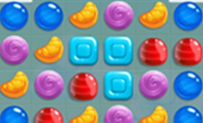 Sujunk 3 saldainius - Panašus žaidimas į Candy Crush