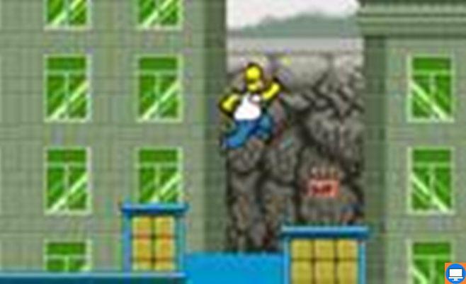 Simpsonų žaidimas panašus į Super Mario