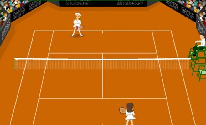 Smagiai žaiskite tenisą tiesiog online ir neprisijungus
