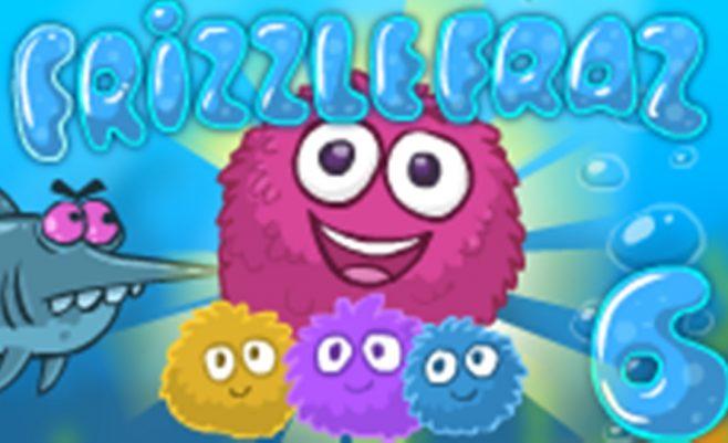 Velniukas šokliukas 6 žaidimas kurį galima žaisti savo telefone. Nuotykių žaidimas su Frizzle Fraz.