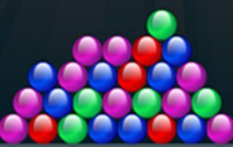 Žaidimas su spalvotais burbuliukais