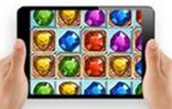 Žaidimas apie deimantus telefone