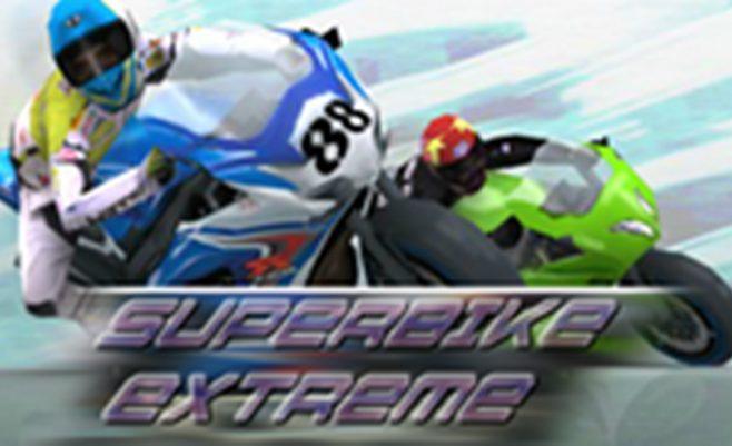 Super motociklas, motociklų lenktynės - žaidimas rekomenduojamas berniukams.