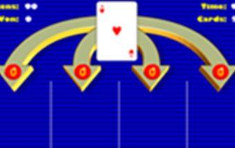 Kortų žaidimas surink 21