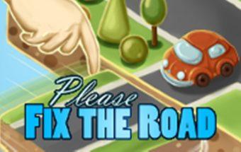 Loginis žaidimas kaip reikia sutvarkyti kelią. Sujunk kelius, vadovaukis loginiu mastymu.