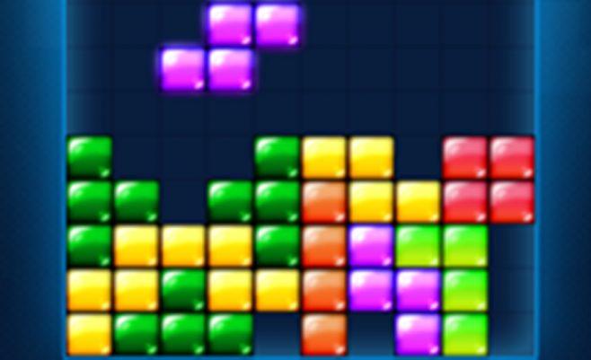 Sujunk vienodus Tetris, žaidimas Tetris2.