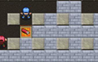 Ugnies Bomberman žaidimas nemokamai ir žaidžiamas internete.
