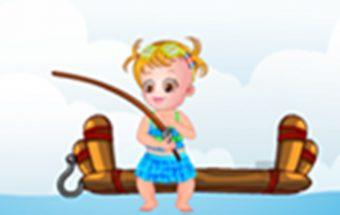 Geras žaidimas vaikams apie tai kaip reikia žvejoti
